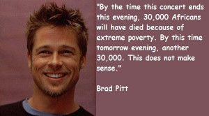 Brad pitt famous quotes 7