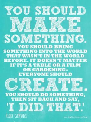 Table Talk: Make Something