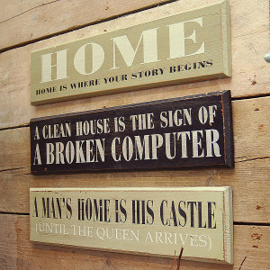 We're sorry, Wooden Sayings Signs is no longer available