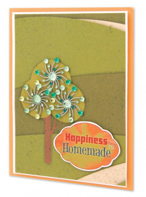 Home / Scrapbooking / Idea Gallery / Happiness is Homemade Card