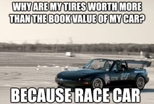 need a daily it seems like as race cars are unreliable