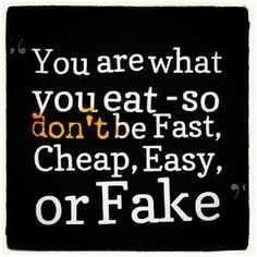 pinner wrote: Choose original & healthy food & indulge... Have a nice ...