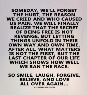 ... for this image include: laugh, love, smile, faith and again tomorrow