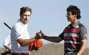 Rory McIlroy says he is playing so well that deposing Luke Donald as