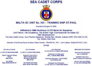 Malta Sea Cadets Corps