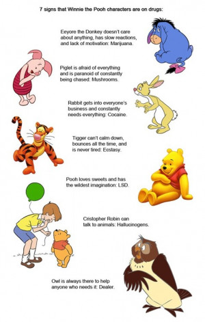 Quotes Winnie The Pooh Rabbit ~ Winnie the Pooh, Rabbit and Tigger ...