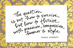 maya angelou quote by gina sekelsky studio