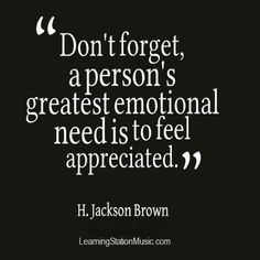 Time Quotes, Being Appreciated Quotes, Appreciation Quotes Sayings ...