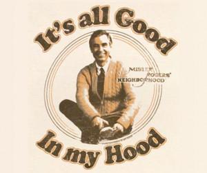 Mister Rogers Neighborhood - Mr. Rogers tee