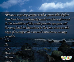 Women mystery writers took a genre that