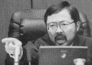 ... Court Judge Lance Ito (photo does not necessarily correspond to quote