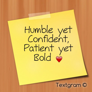 Being Patient Quotes Being patient --> we can stand