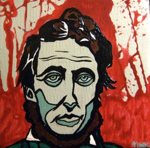 Henry David Thoreau painting 1024x1012 Henry David Thoreau Quote