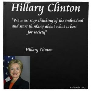 hillary_clinton_individuals_quote_napkin ...
