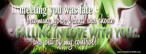 Love Quotes Facebook Covers