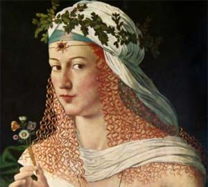 Lucrecia Borgia (detalle de un supuesto