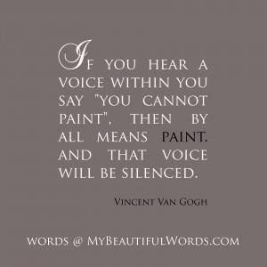 That Inner Voice...