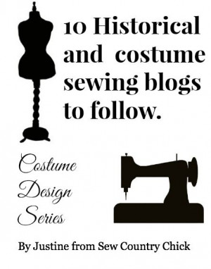 ten costume and historical sewing blog to follow
