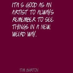 ... good to learn while you re young tim burton burton quotes soul surfer