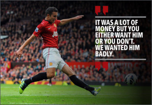 Go Back > Gallery For > Van Persie Quotes