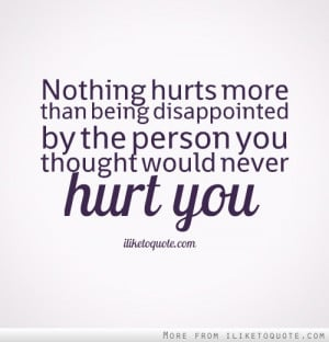 love disappointment quotes
