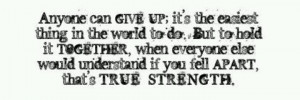 Trying to be strong....