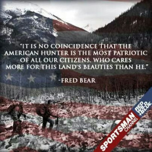 Fred Bear Quote