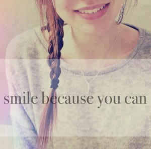 beautiful, quotes, smile, you can