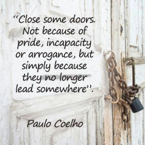 Let another door open....