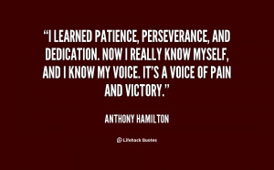Quotes About Patience and Perseverance