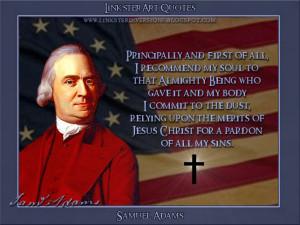 LinksterArt Quotable Quotes: Samuel Adams
