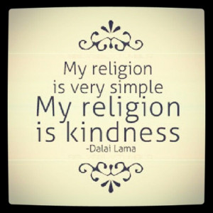 """My kind of religion! Dalai Lama #quotes For us """"anti-religious ..."""