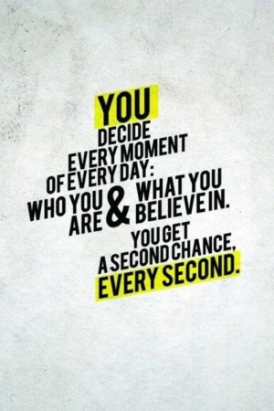 Commit to decision