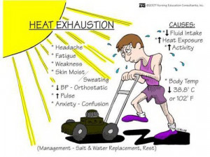 Heat exhaustion: