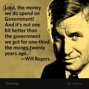 wisdom from Will Rogers