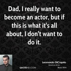 Leonardo Dicaprios Dad