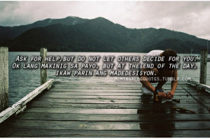 Sad Love Quotes Tagalog For Him