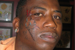 Remember that time Gucci Mane got a tattoo of an ice cream cone on his ...