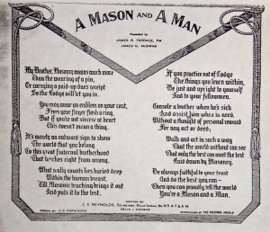 poem, words to live by.Knights Templar, Eastern Stars, Freemasonry ...