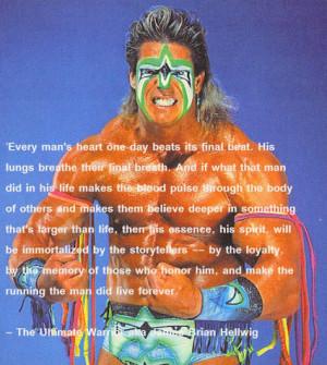 aka james brian hellwig june 16 1959 april 8 2014 # ultimatewarrior ...