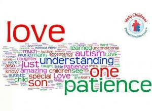Love, understanding, patience...