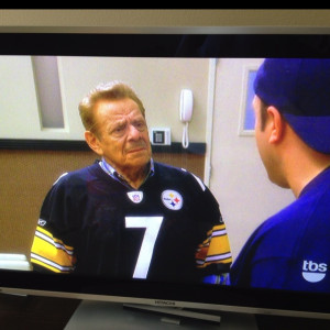 Arthur Spooner Repping The Steelers