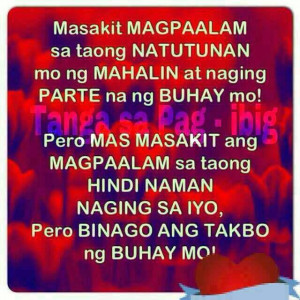 Quotes About Love Tagalog Sad Tagalog Sad Love Quotes