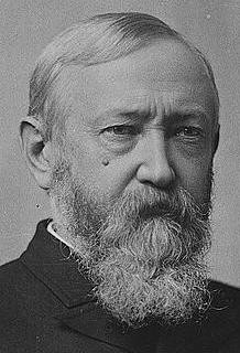 Benjamin Harrison I Pity The Man Quote