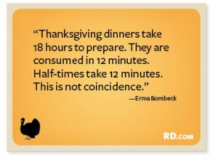 Funny Thanksgiving Quotes | Reader's Digest