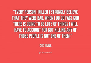 Chris Kyle Quotes