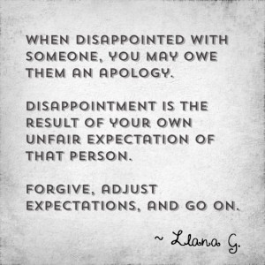 quote on disappointment.