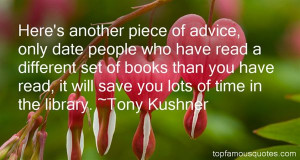 Tony Kushner Quotes Pictures