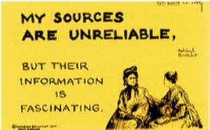 Sources unreliable