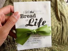Bread of Life' Theme Dinner involved a salad, and different types of ...